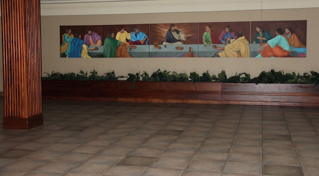 Cafeteria at Cathedral Carmel School